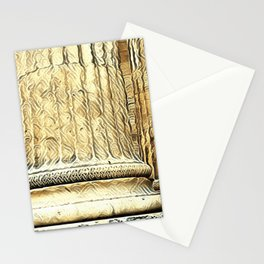 Columns of the Sacred Temple Stationery Cards