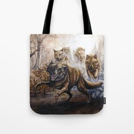 Pack of Wolves Tote Bag