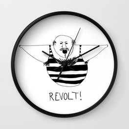 Revolt One Wall Clock