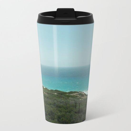 BEACH DAYS 43 Metal Travel Mug