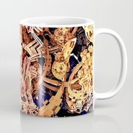 Exoskeleton Gold Coffee Mug