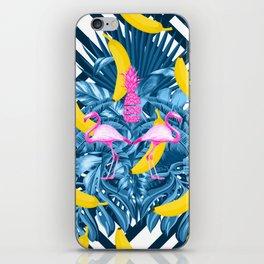 tropical banana fun  iPhone Skin