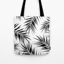 Palm Leaves Cali Finesse #3 #BlackWhite #tropical #decor #art #society6 Tote Bag