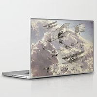airplanes Laptop & iPad Skins featuring airplanes 2 by Кaterina Кalinich