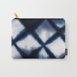 Shibori Experiment Carry-All Pouch
