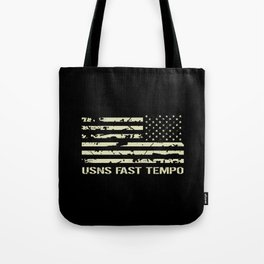 USNS Fast Tempo Tote Bag