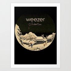 Weezer Pinkerton Art Print
