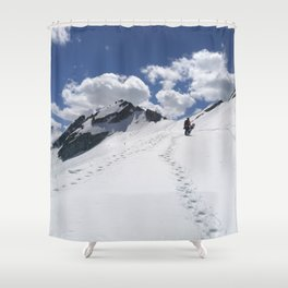 Aiming high Shower Curtain