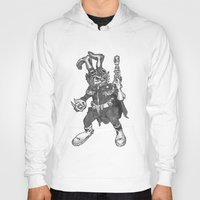 bucky Hoodies featuring Bucky O'Hare by Hartless