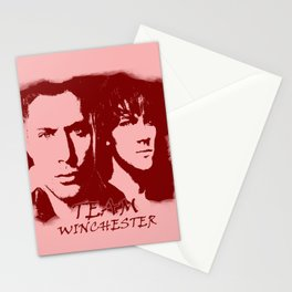 Team Winchester Stationery Cards