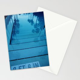 Poolside, Miami.  Stationery Cards