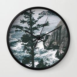 Oregon Coast VII Wall Clock
