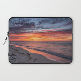 Sunset at Bean Point 4 Laptop Sleeve