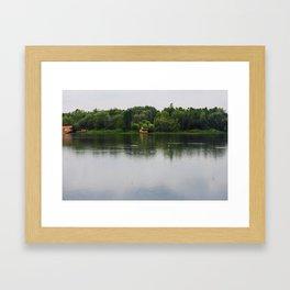 Beautiful lake Framed Art Print