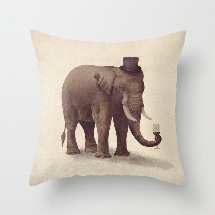 A Fine Vintage Throw Pillow