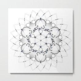Equilibrium Metal Print
