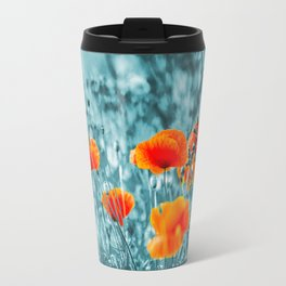 Red Poppy/ Roter Mohn Travel Mug