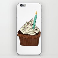 cake iPhone & iPod Skins featuring Cake by elyinspira
