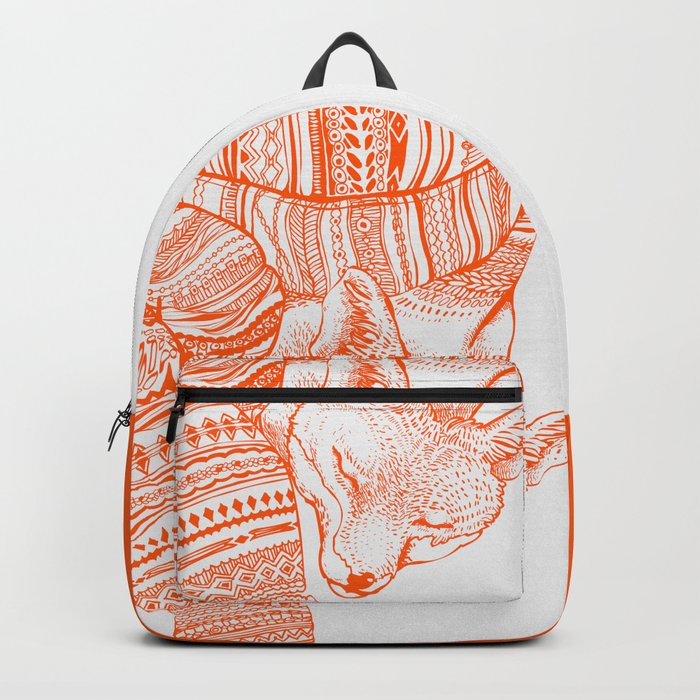 FOX IN THE SNOW Backpack