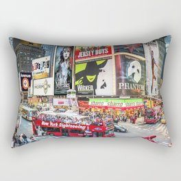 Times Square II Special Edition II Rectangular Pillow