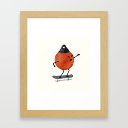 Skater Buoy Framed Art Print