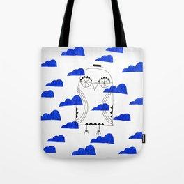 Blue Clouds Tote Bag