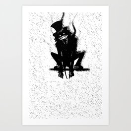 Why Will You Say That I Am Mad (V.2) Art Print