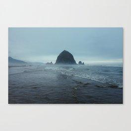 Cannon Beach Fog Canvas Print