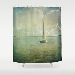 Catching the Wind Shower Curtain