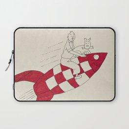 Tintin and Snowy Laptop Sleeve