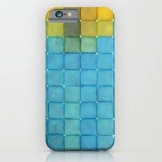 Polaroid Pixels I (Flower) Slim Case iPhone 6s
