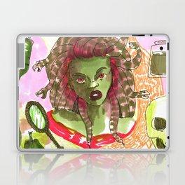 medusa horror pattern Laptop & iPad Skin