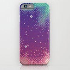 Rainbow Nebula (8bit) Slim Case iPhone 6s