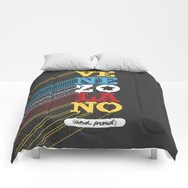 VENEZOLANO  and PROUD Comforters