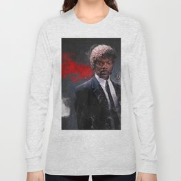 Jules Winnfield Witnesses A Miracle - Pulp Fiction Long Sleeve T-shirt