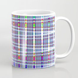 rhombus blue Coffee Mug