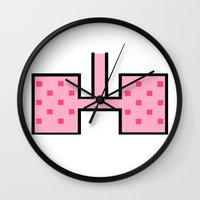 lungs Wall Clocks featuring Lungs by Fool design