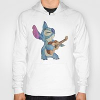 stitch Hoodies featuring Stitch by Elyse Notarianni