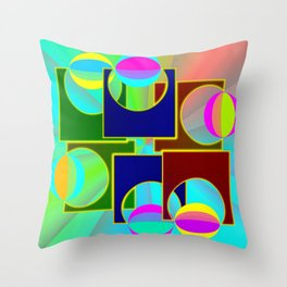 Supercontrolling Throw Pillow