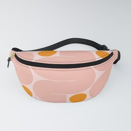 Abstraction_NEW_SUN_CONNECT_LINE_POP_ART_Minimalism_014AA Fanny Pack