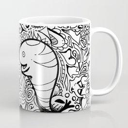 Looking strangely Coffee Mug