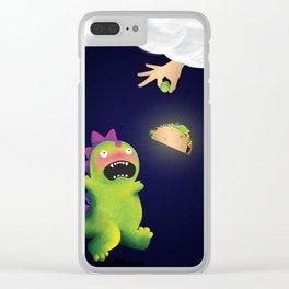 Tacosaurus Clear iPhone Case