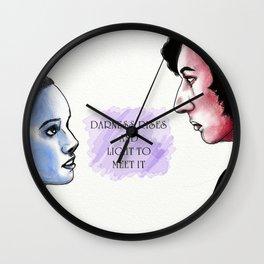 Reylo: Light and Dark Wall Clock