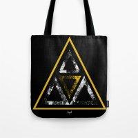 illuminati Tote Bags featuring Illuminati by Haych