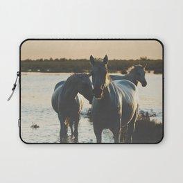 Camargue Horses III ... Laptop Sleeve