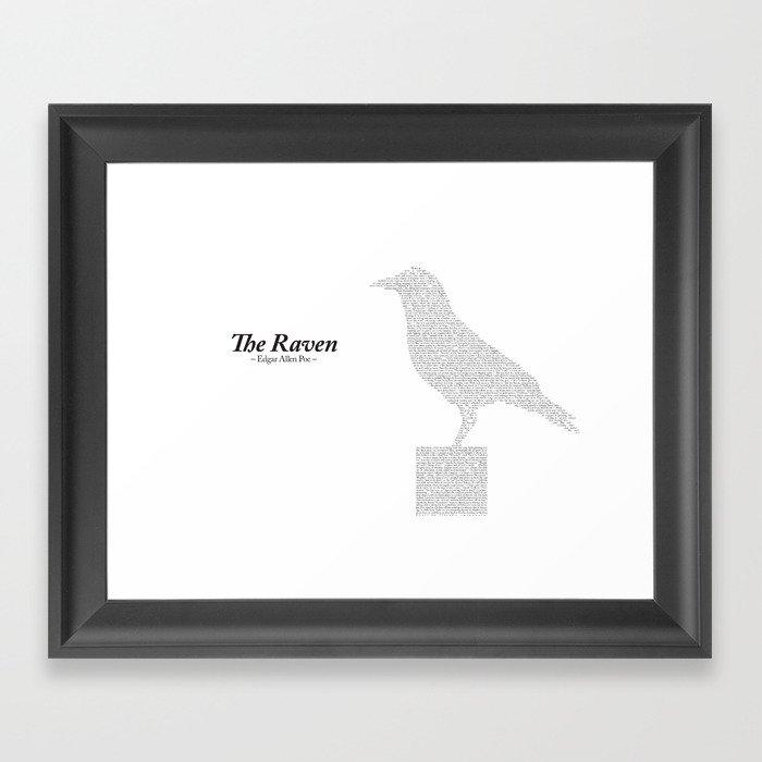 The Raven Framed Art Print