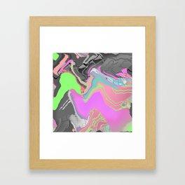 Meshwave Framed Art Print