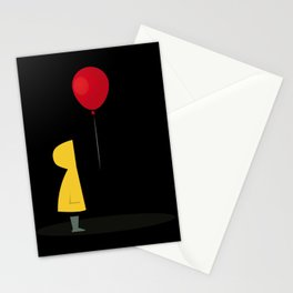 Red Balloon for 1 Penny Stationery Cards