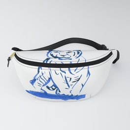 Approaching Tiger - Navy Fanny Pack