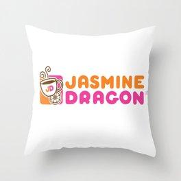 Jasmine Dragon  Throw Pillow